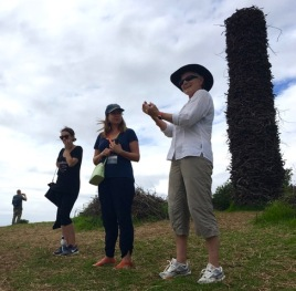 Lynx interpreting at Sculpture on the Gulf, February 2017